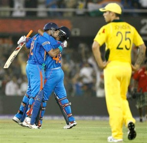 india vs australia cricket match