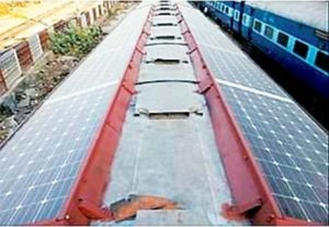First Solar Train in India