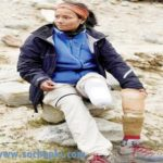 inspiring story of the first female amputee to climb mount everest