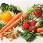 Foods and vegetables for shiny skin